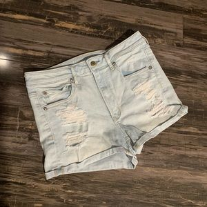 American Eagle Super Hi-Rise Shortie